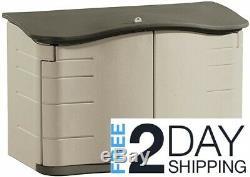 Rubbermaid Horizontal Storage Shed, FG374801OLVSS Small Horizontal Shed
