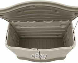 Rubbermaid Horizontal Storage Shed, small 18 cubic feet