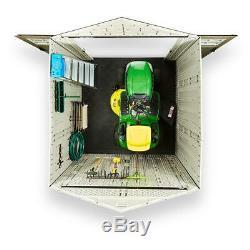 Rubbermaid Resin Shed 332 cu. Ft. Storage Capacity Weather Resistant Black/Brown
