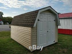Shed storage building, mini barn, 8x12 shed
