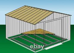 Steel Floor Frame Kit Fits All Arrow Sheds Size 10x11 & 10x12 & 10x13 & 10x14 Ft
