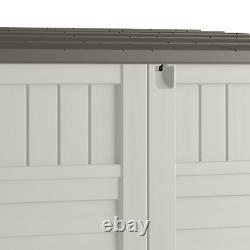 Storage Outdoor Shed Garden Tool Garage with Floor 53 x 31.5 x 45.5 Horizontal
