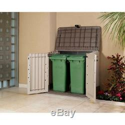 Storage Shed Store-It-Out Midi 30-Cu Ft Resin All-Weather Plastic Outdoor Garden