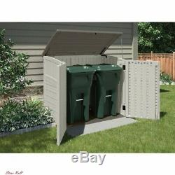 Storage Shed Utility Outdoor Durable Resin Decor Lawn Garden Home Suncast New