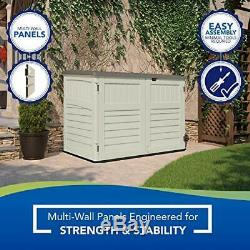 SuncastStow Away Horizontal Storage Shed Outdoor Storage Shedfor 1