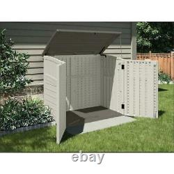 Suncast 2 ft. 8 in. X 4 5 3 9.5 Resin Horizontal Storage Shed