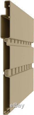 Suncast EverettA Storage Shed for Backyard, Vanilla, 6'x8', 306 cu. Ft