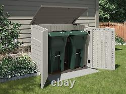 Suncast Horizontal Outdoor Storage Shed For Backyards And Patios 34 Cubic Feet C