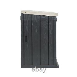 Toomax Stora Way All-Weather Horizontal Storage Shed Cabinet, 30 cu ft (Used)