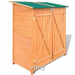 VidaXL Wooden Shed Garden Tool Shed Storage Room Large