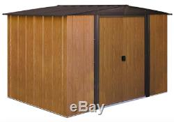Woodlake 8'W x 6'D Arrow Metal Storage Shed Kit (model WL86)