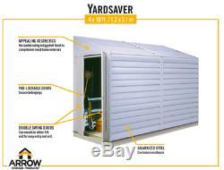 Yardsaver 4'W x 7'D Arrow Small Metal Storage Shed Kit NEW IN BOX